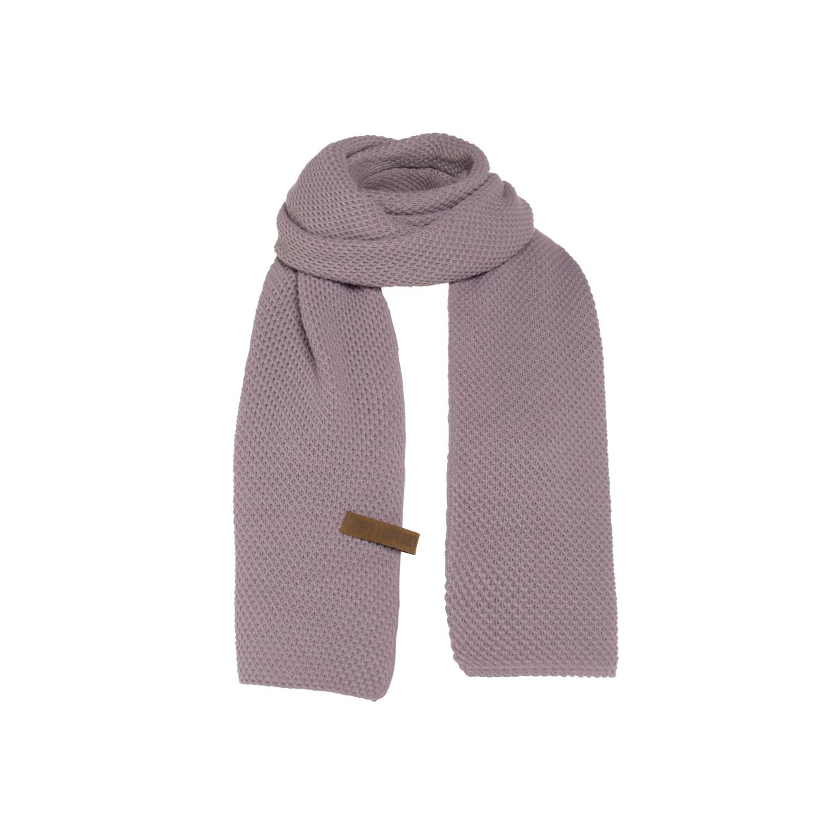 knit factory 1236534 jazz sjaal mauve 1