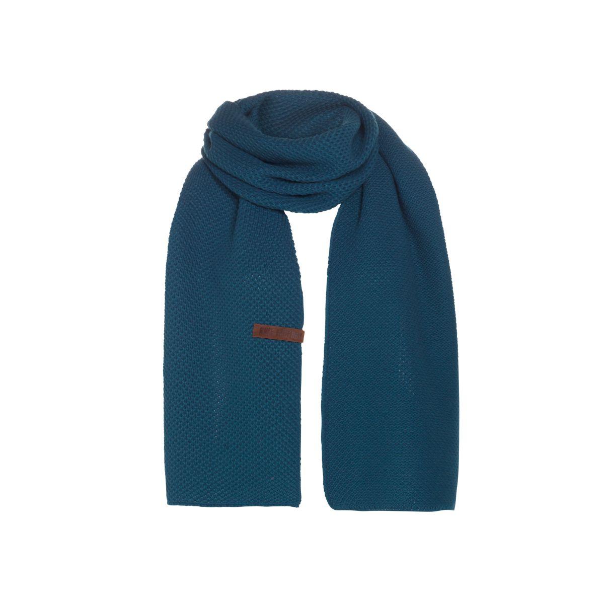 knit factory 1236508 jazz sjaal petrol 1