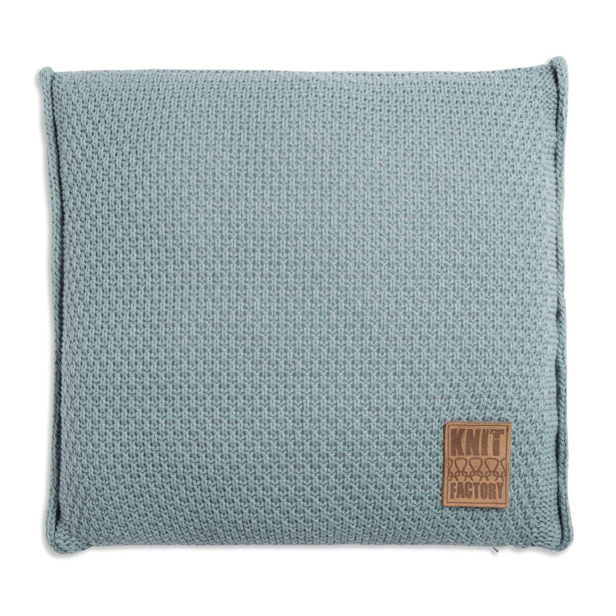 jesse cushion stone green 50x50