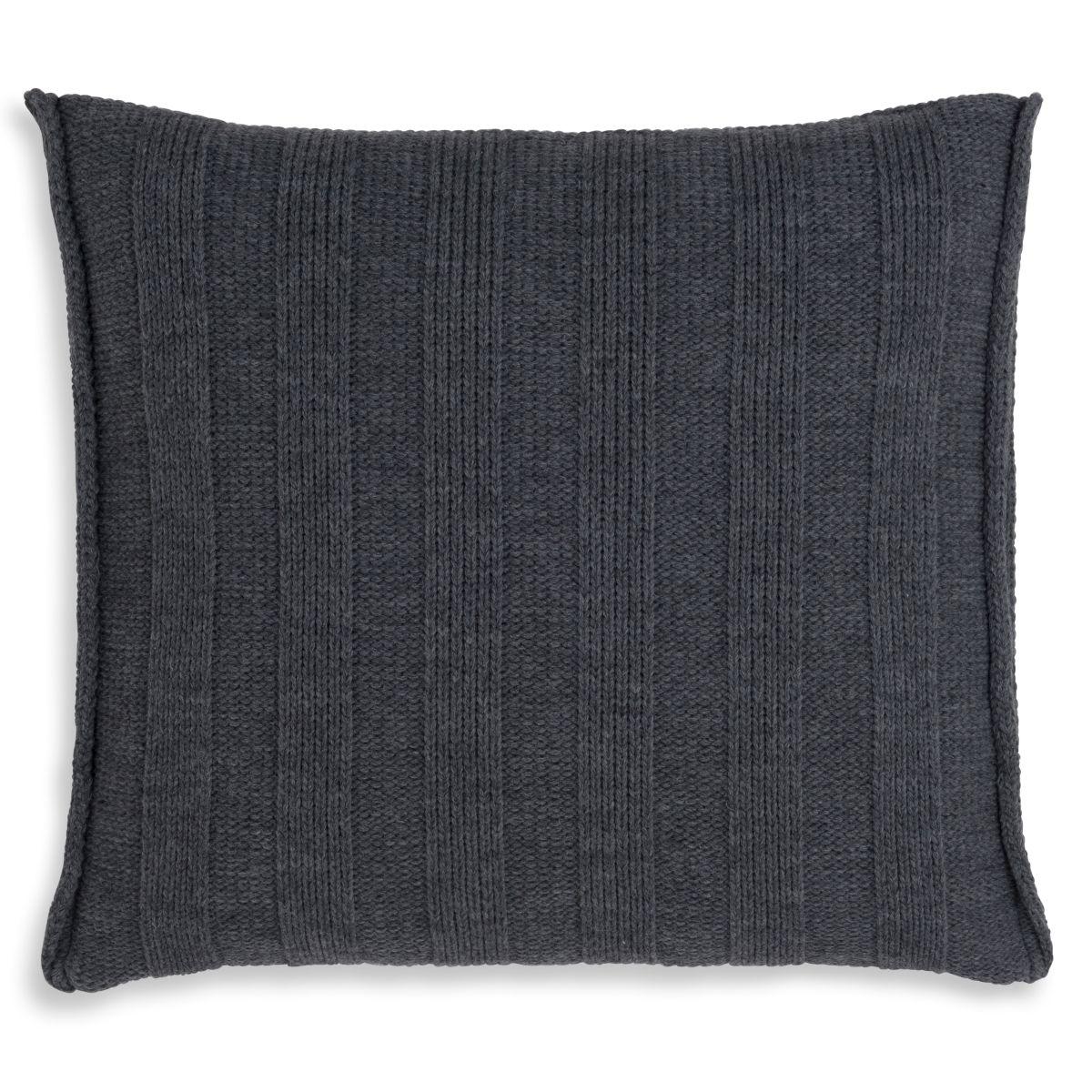 knit factory 1091210 kussen 50x50 jesse antraciet 2