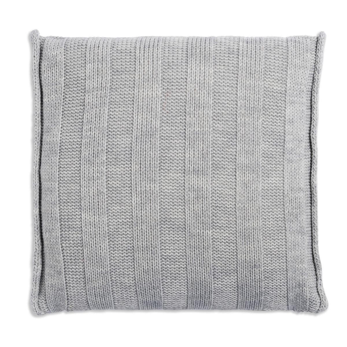 knit factory 1091211 kussen 50x50 jesse licht grijs2