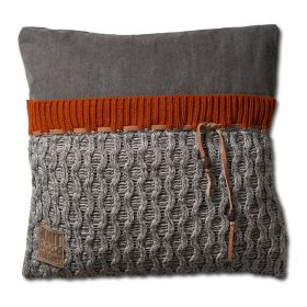 Joep Cushion Light Grey Melee - 50x50