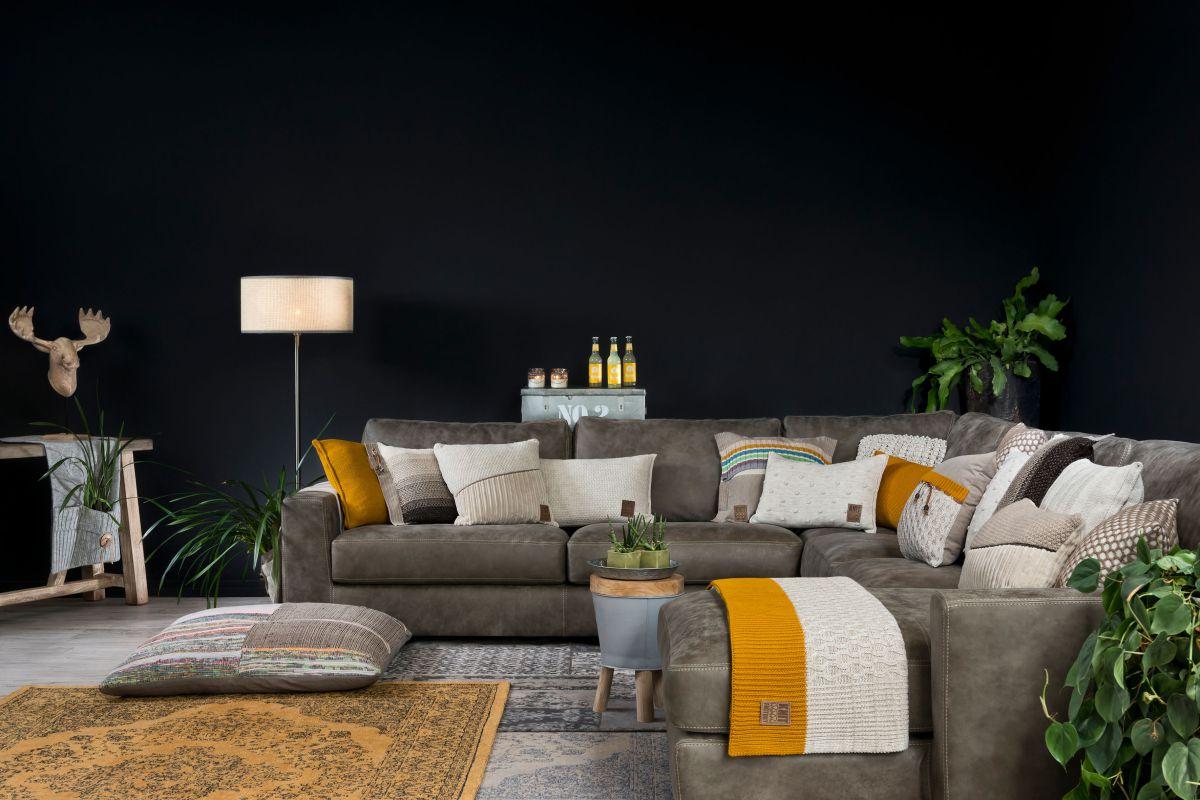 joep cushion light grey melee 50x50