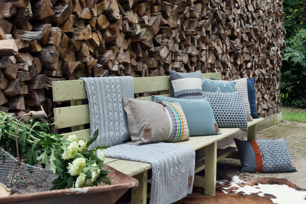 joep cushion light grey melee 60x40