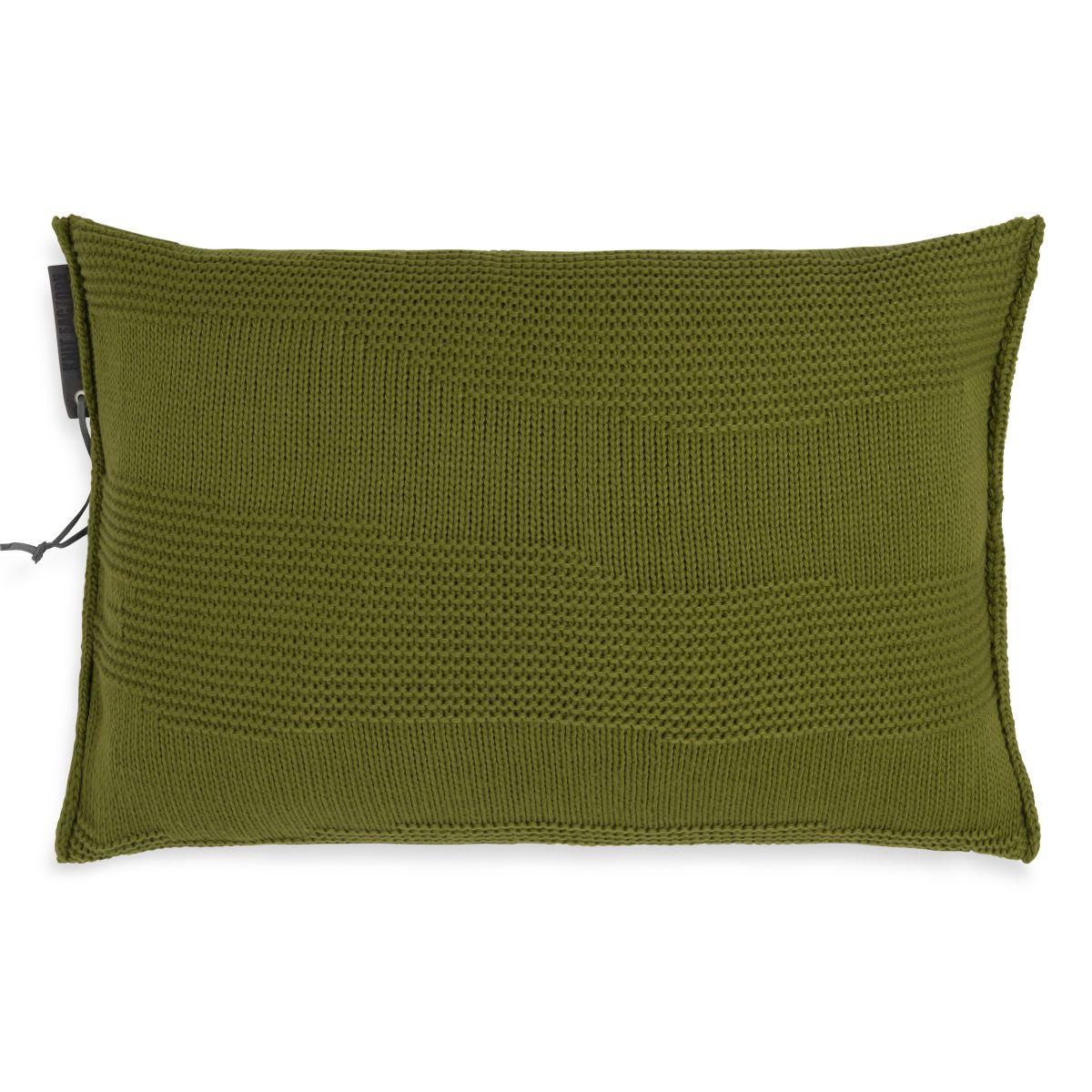 joly cushion moss green 60x40