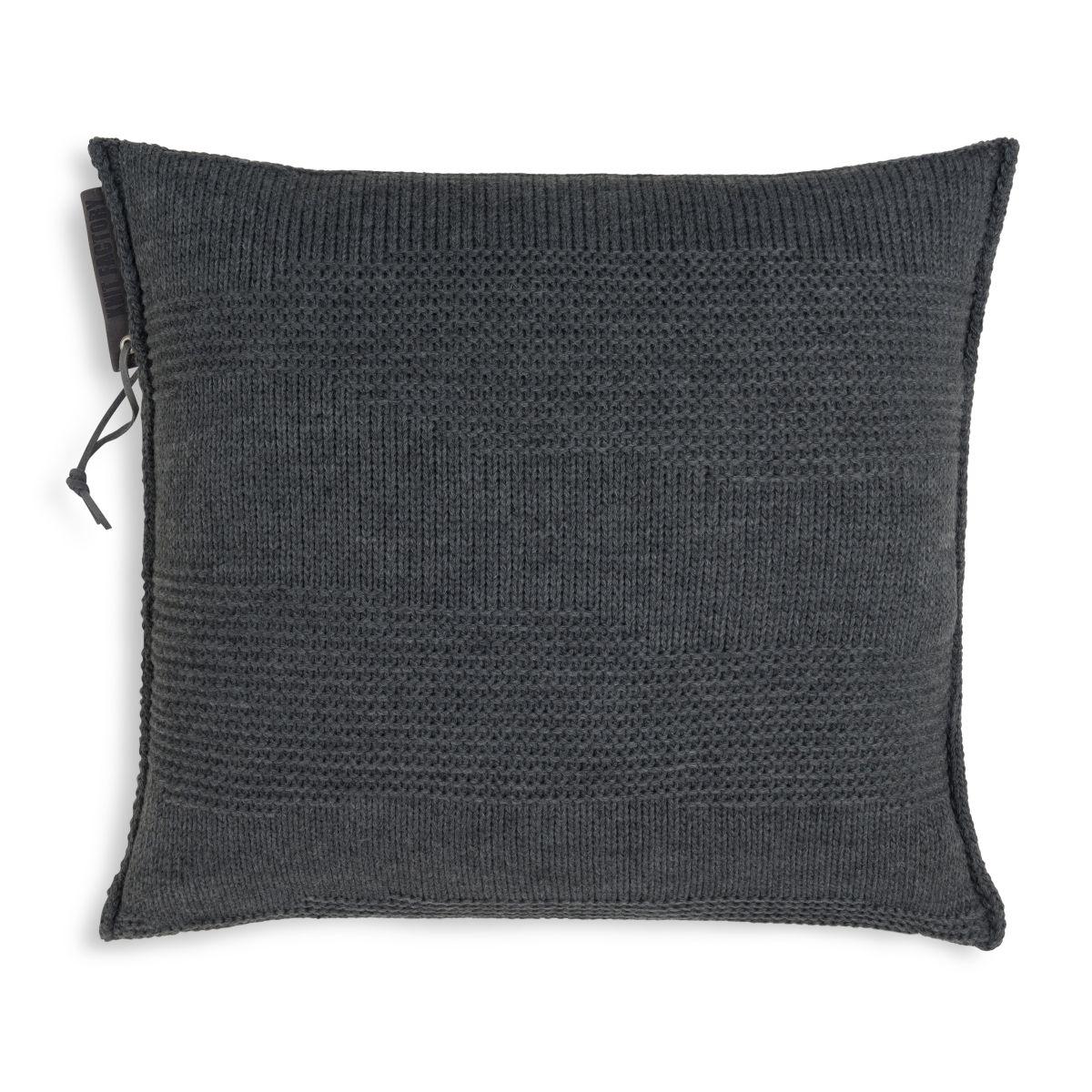 knit factory 1431210 joly kussen 50x50 antraciet 1