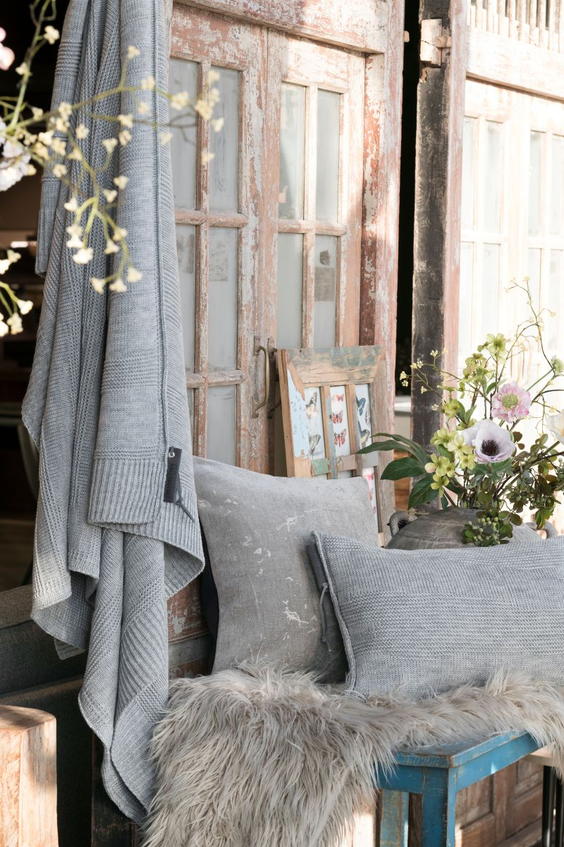 knit factory 1431311 joly kussen 60x40 licht grijs 4