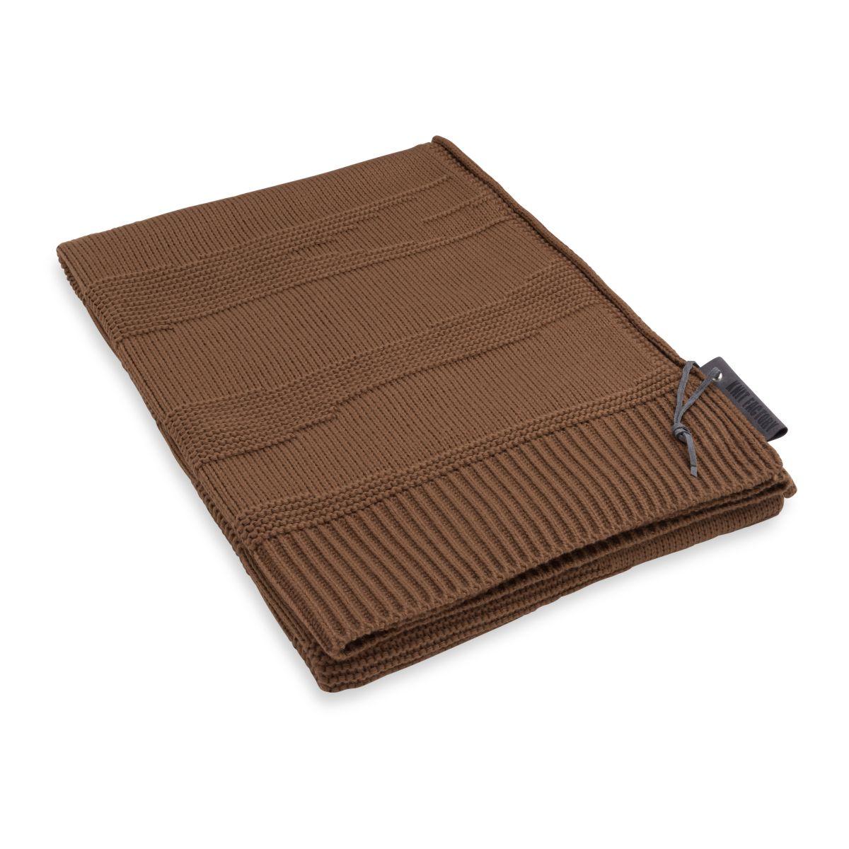 knit factory 1431135 joly plaid tobacco 1