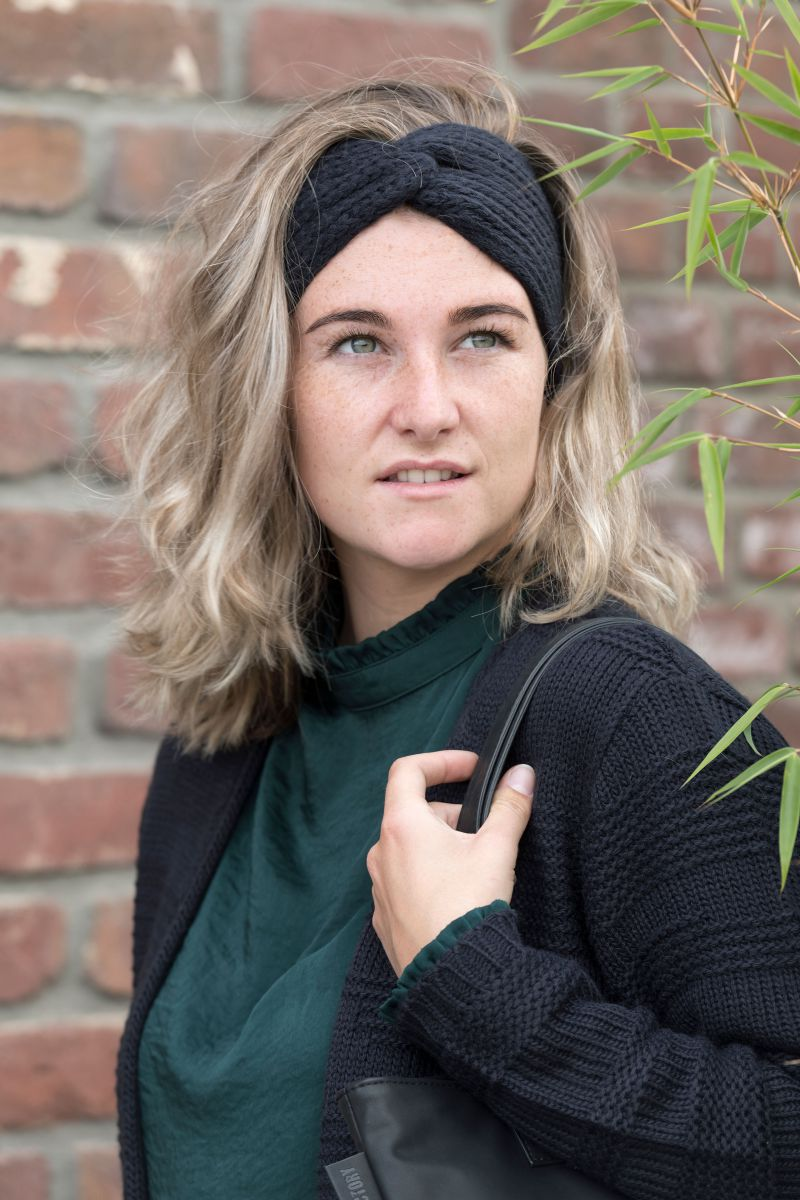 joy headband moss green