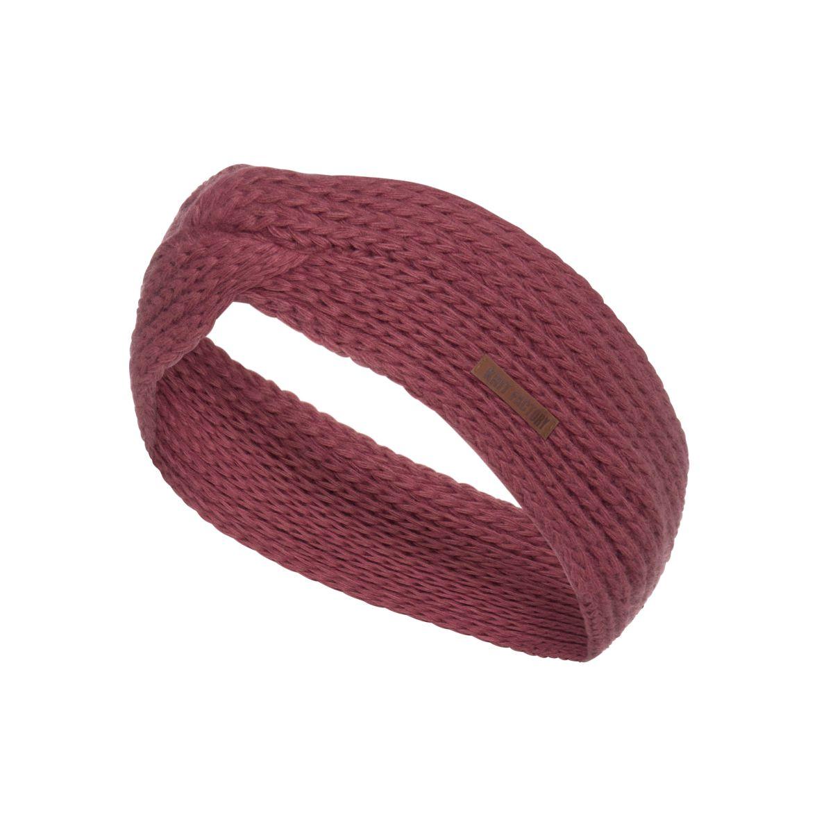 joy headband stone red
