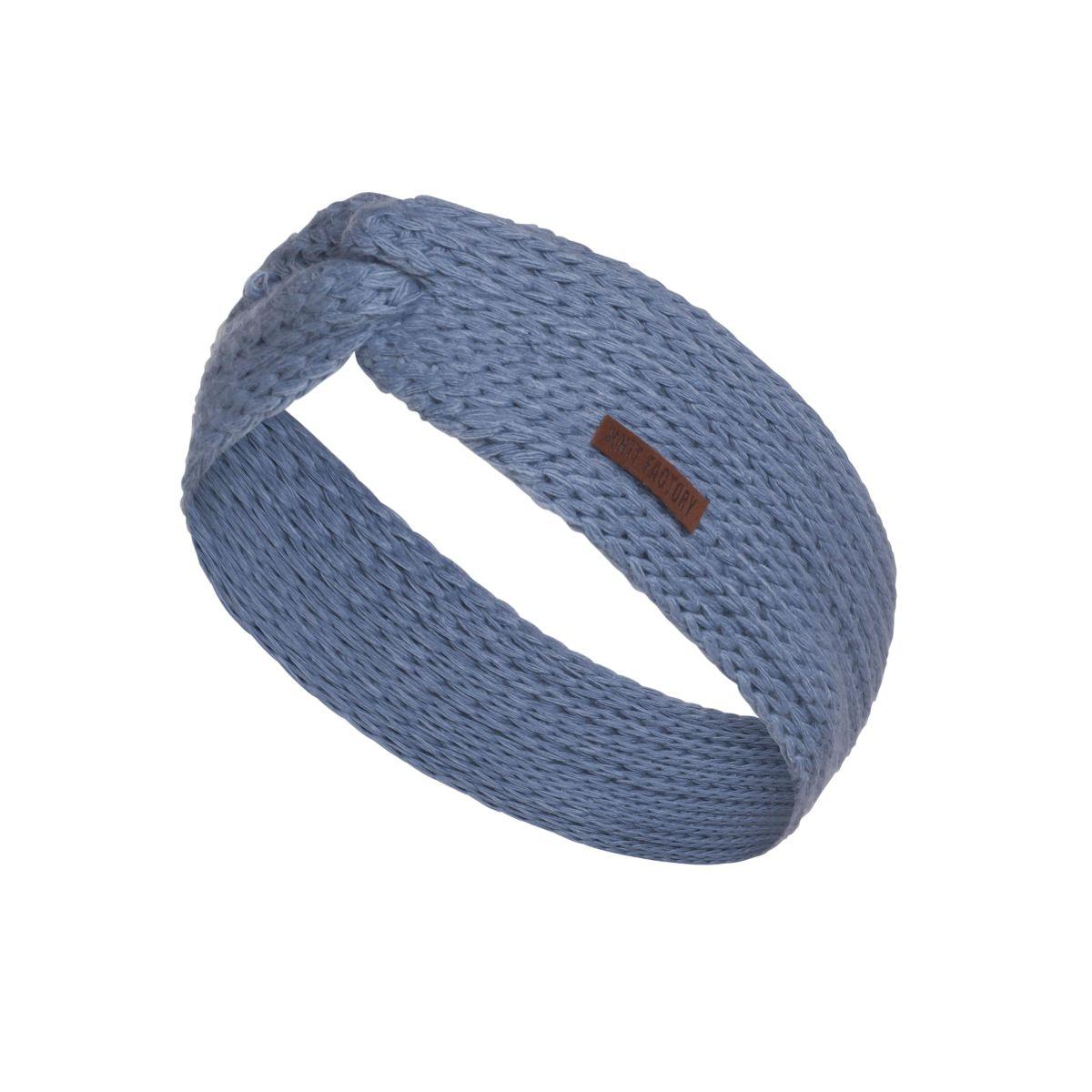 knit factory 1376932 joy hoofdband indigo 1