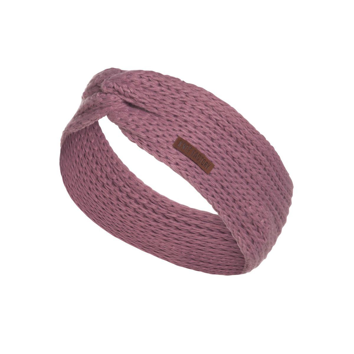 knit factory 1376927 joy hoofdband lila 1