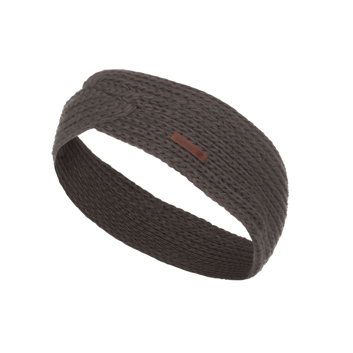 knit factory 1376929 joy hoofdband taupe 1