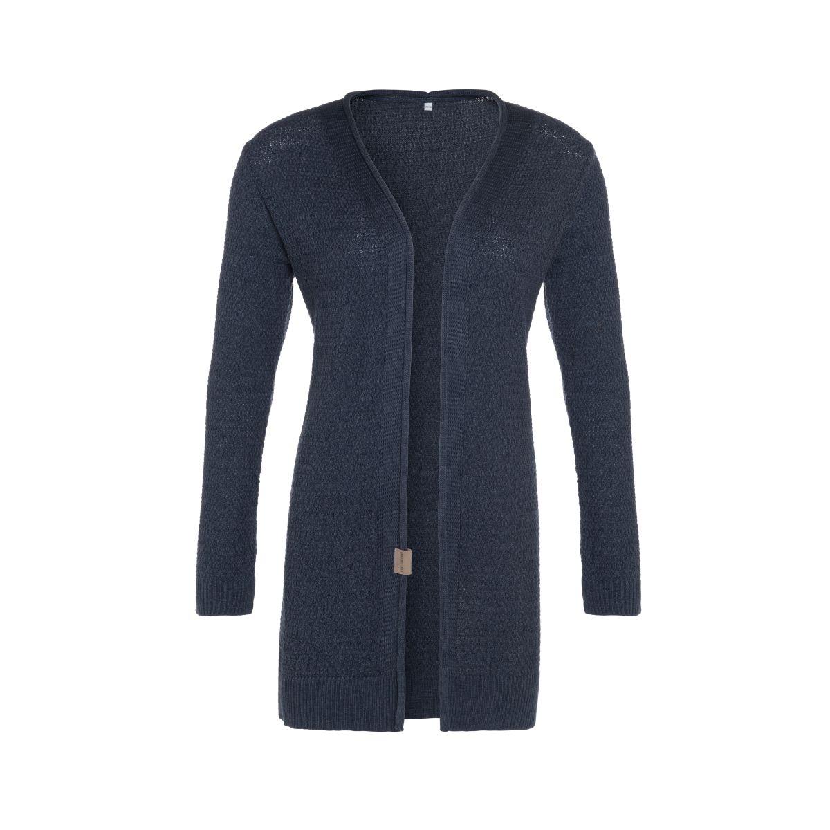 june knitted cardigan denim 3638