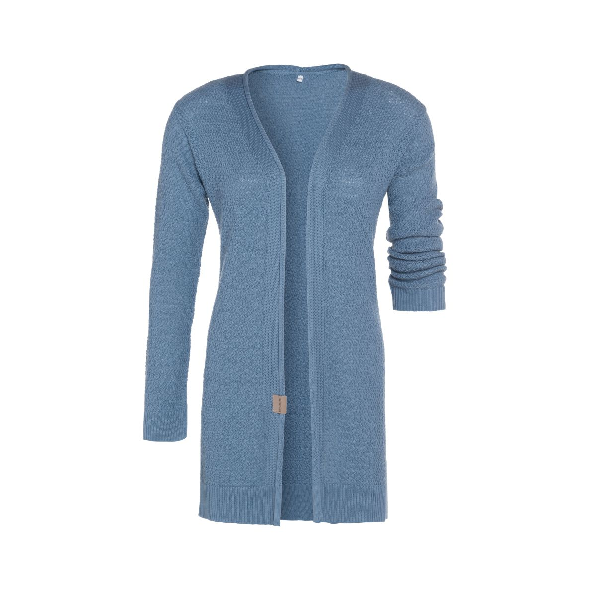 june knitted cardigan stone blue 4042