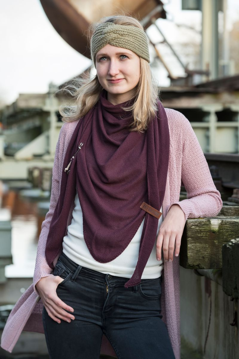 june knitted cardigan taupe 3638