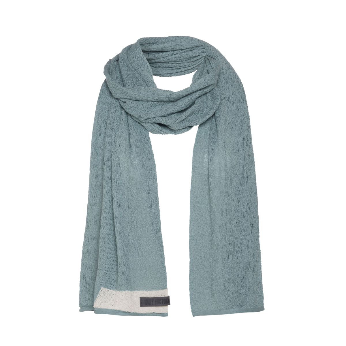 june scarf stone green