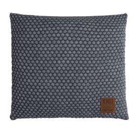 Juul Cushion Anthracite/Light Grey - 50x50