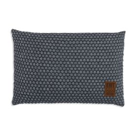 Juul Cushion Anthracite/Light Grey - 60x40