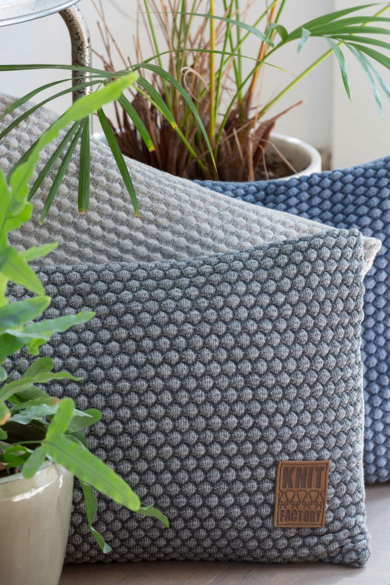 juul cushion light greybeige 60x40