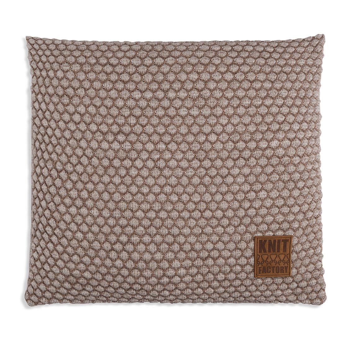 juul cushion marronbeige 50x50