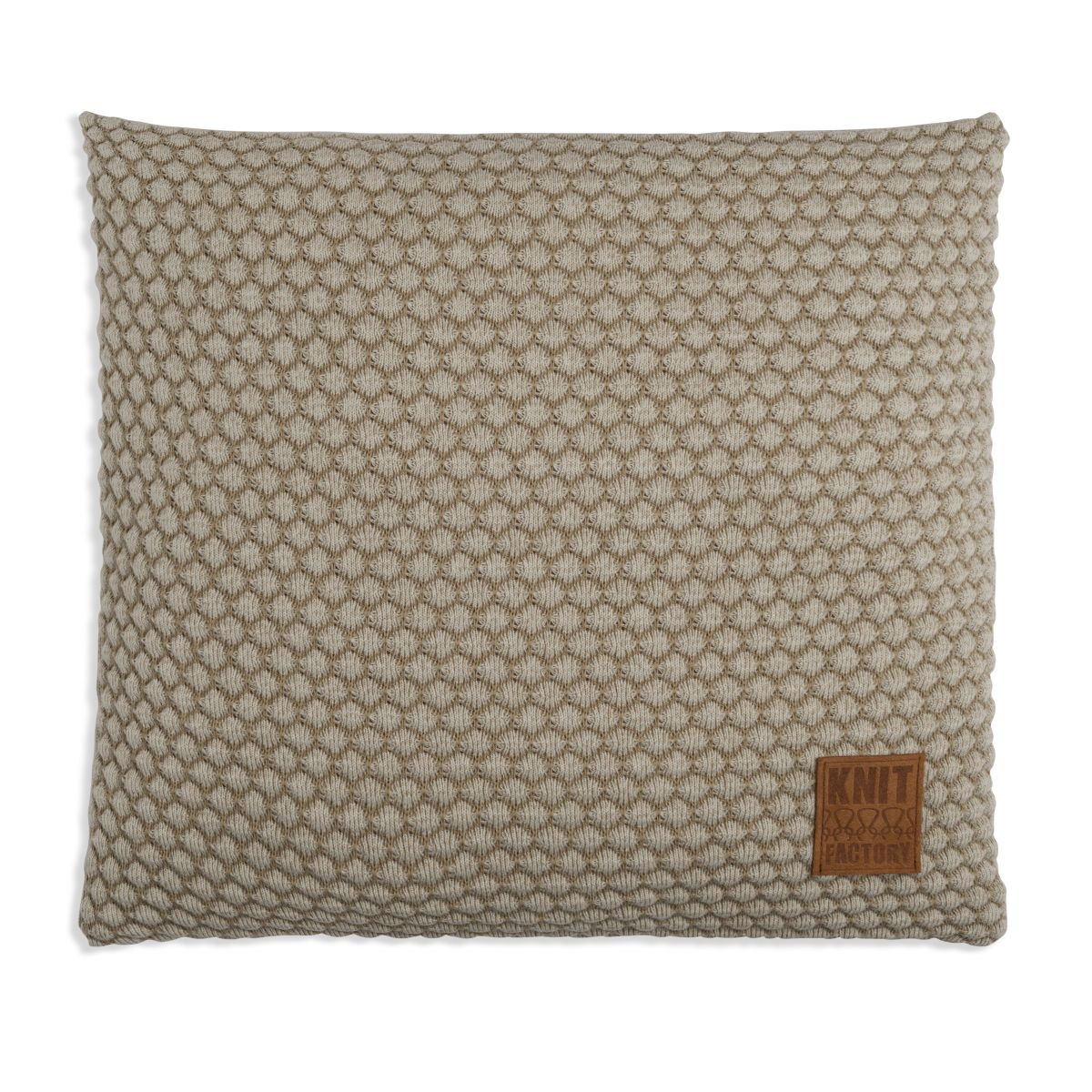 knit factory 1241257 kussen 50x50 juul seda olive 1