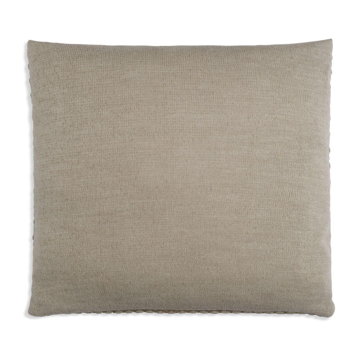 knit factory 1241257 kussen 50x50 juul seda olive 2