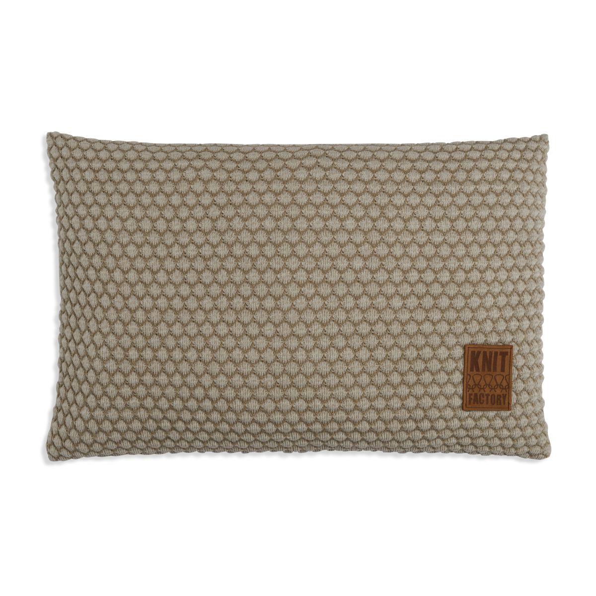 knit factory 1241357 kussen 60x40 juul seda olive 1