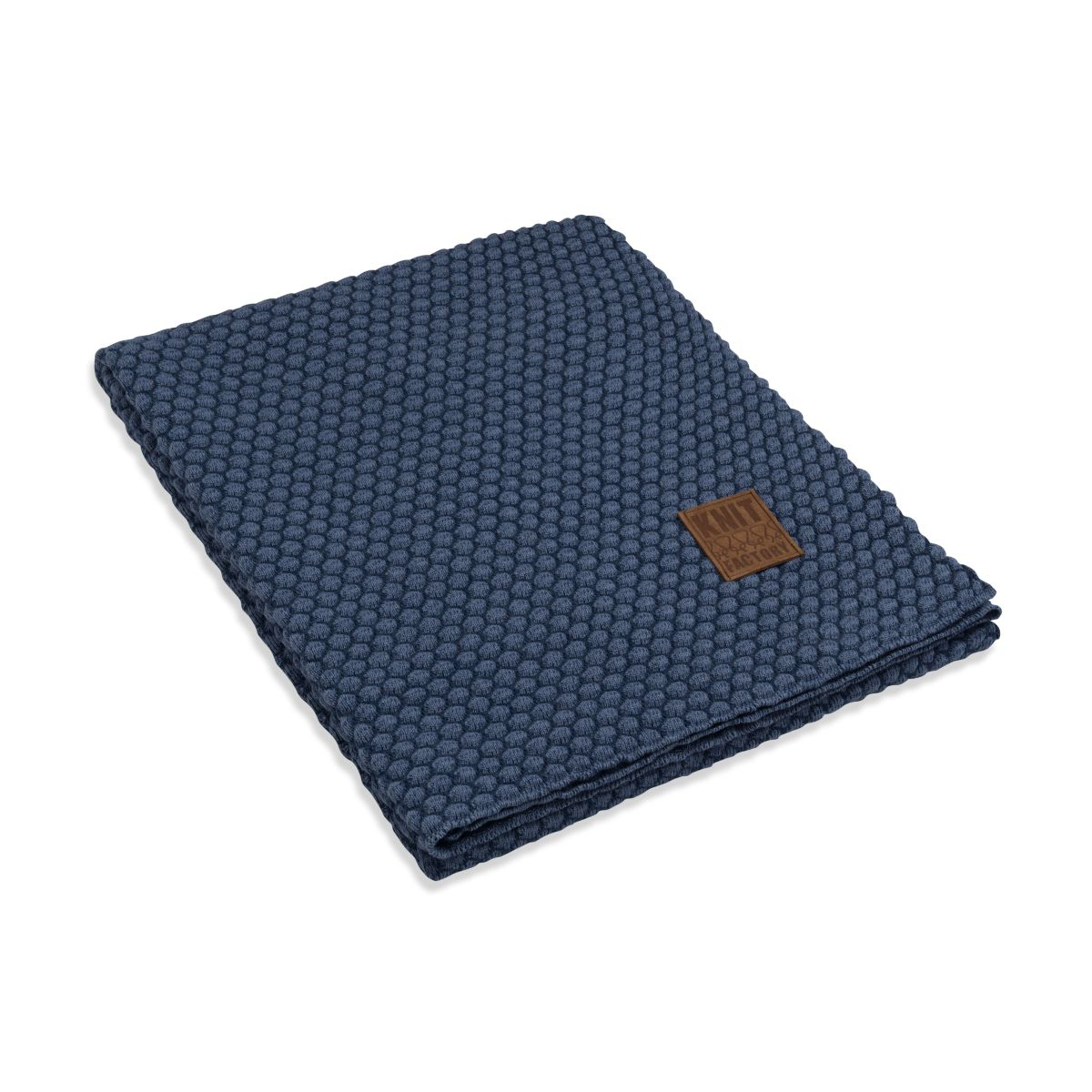 knit factory 1241154 plaid juul jeans indigo