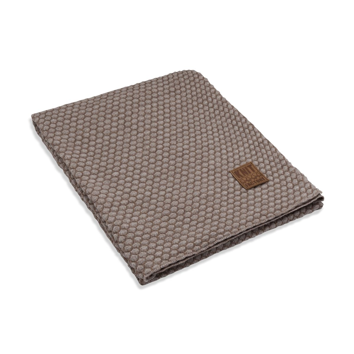 knit factory 1241153 plaid juul marron beige