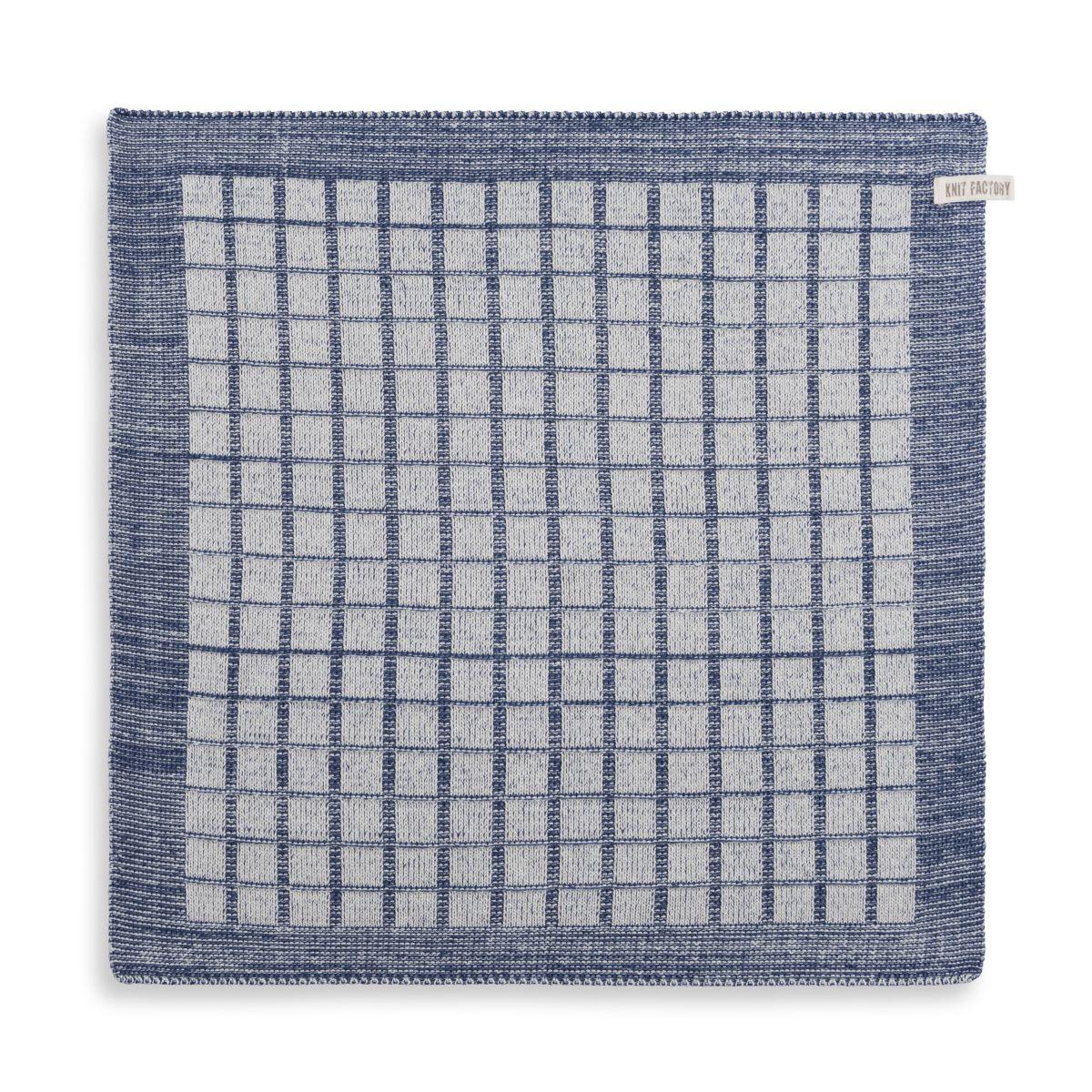 knit factory 2170077 keukendoek alice ecru jeans