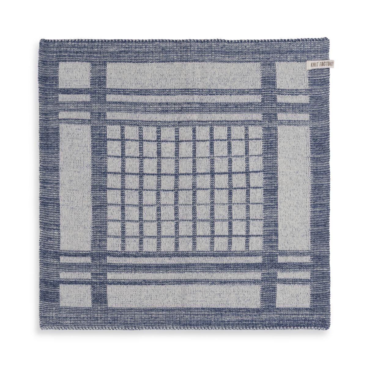 knit factory 2180077 keukendoek emma ecru jeans 1