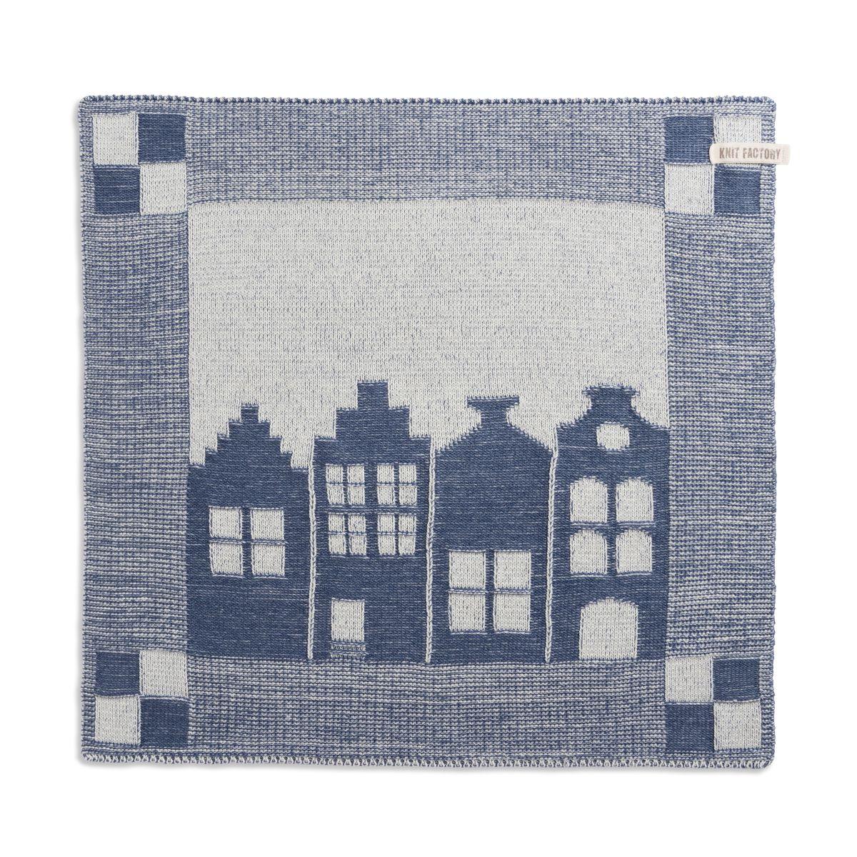 knit factory 2070077 keukendoek huis ecru jeans