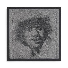 Keukendoek Rembrandt Ecru/Antraciet