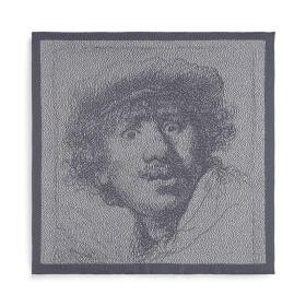 Keukendoek Rembrandt Ecru/Med Grey