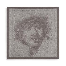 Keukendoek Rembrandt Ecru/Taupe