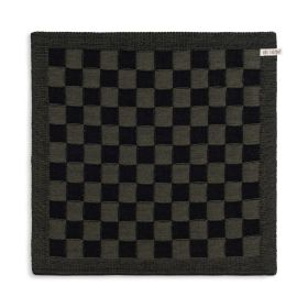 Kitchen Towel Block Black/Khaki