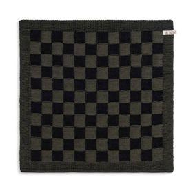 Kitchen Towel Block Black/Khaki