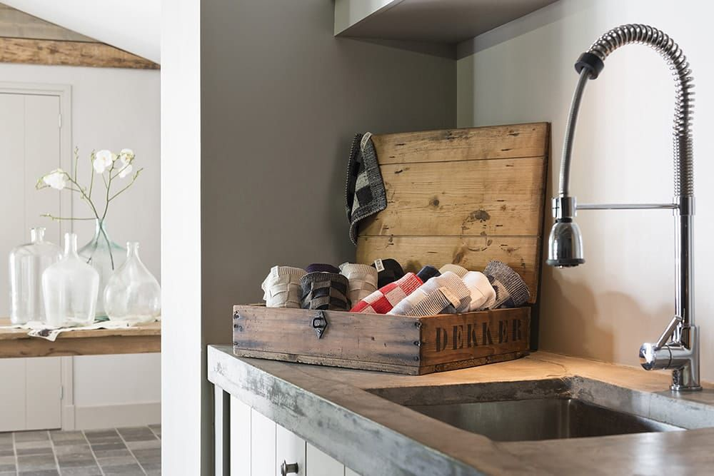 kitchen towel block blackochre