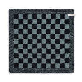Kitchen Towel Block Black/Stone Green