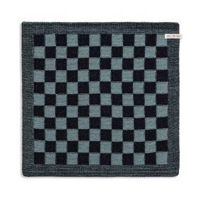 Kitchen Towel Block Black/Stone Green