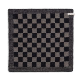 Kitchen Towel Block Black/Taupe