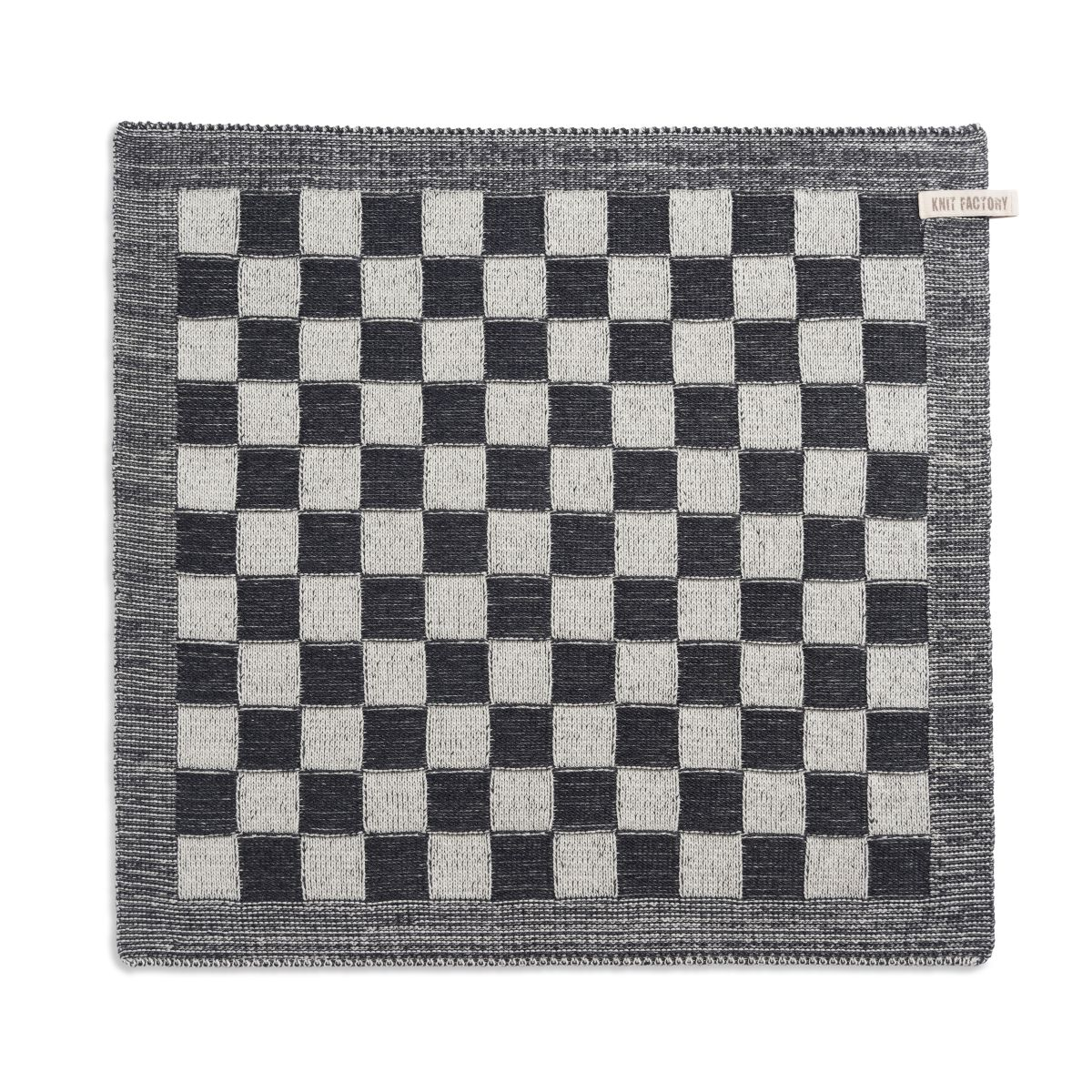 kitchen towel block ecruanthracite