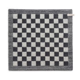 Kitchen Towel Block Ecru/Anthracite