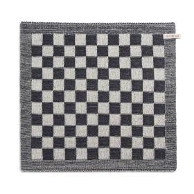 Kitchen Towel Block Ecru/Anthracite
