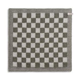 Kitchen Towel Block Ecru/Khaki