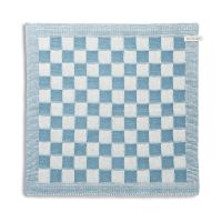 Kitchen Towel Block Ecru/Ocean