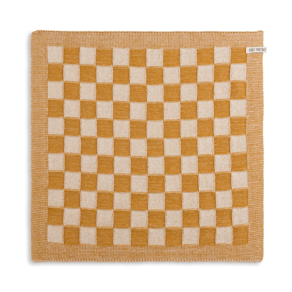 kitchen towel block ecruochre