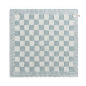 Kitchen Towel Block Ecru/Stone Green