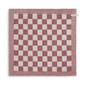 Kitchen Towel Block Ecru/Stone Red